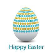 Egg width pattern — Stock Vector
