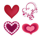 Happy Valentines Day, Love vector set — Wektor stockowy