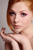 Kızıl saçlı — Stok fotoğraf