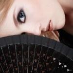Black fan — Stock Photo #14583095