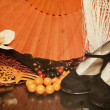 Flamenco accessories — Stock Photo