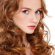 Pretty redhead — Stock Photo #15263165