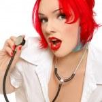 Sexy nurse — Stock Photo #15263629