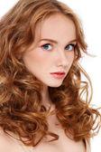 Pretty redhead — Stock Photo