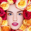 Beauty in roses - Stock Photo
