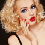 Surprised blonde — Stock Photo #15271617