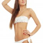 Girl in bikini — Stock Photo