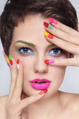 Manicure junkie — Stock Photo