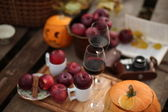 Autumn picnic — Stock Photo