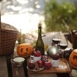 Royalty-Free Stock Photo: Halloween picnic