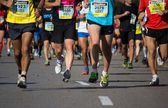 Half Marathon — Stock Photo