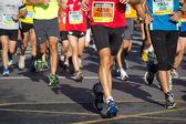 马拉松 — 图库照片