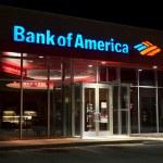 Bank of America — Stock Photo