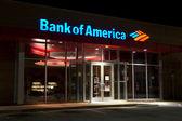 Banco de américa — Foto de Stock