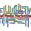 Stock Photo: Social MediMarketing