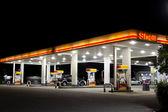 Benzin istasyonu — Stok fotoğraf