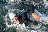 II Triathlon LD Valencia, Spain. — Stock Photo