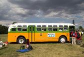 Rosa Parks Bus — Stock Photo