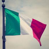 Italië vlag — Stockfoto