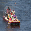 Stock Photo: Airboat Rides