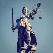 Lady Justice — Stock Photo