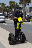 Police on a Segway — Stock Photo