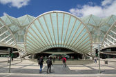 Oriente Station Lisbon — Stock Photo
