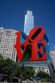 Love Park — Stock Photo