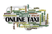 Online Taxi — Stock Photo