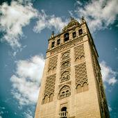 Хиральда (колокольня) собора Севильи. — Стоковое фото