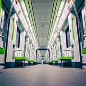 Subway Car — Stock Photo