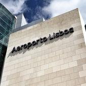 Lisbon Airport — Stockfoto