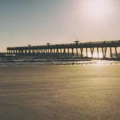 Fishing Pier — Stock Photo