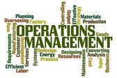Operations Management — Стоковое фото