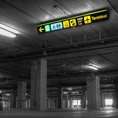 Parcheggio aeroporto — Foto Stock
