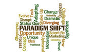 Paradigm Shift — Stock Photo