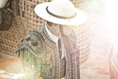 Matador in bullring, spain, Madrid — Stock Photo