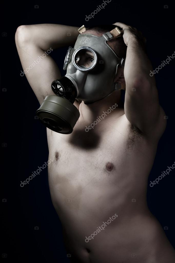Mask nude gas mask