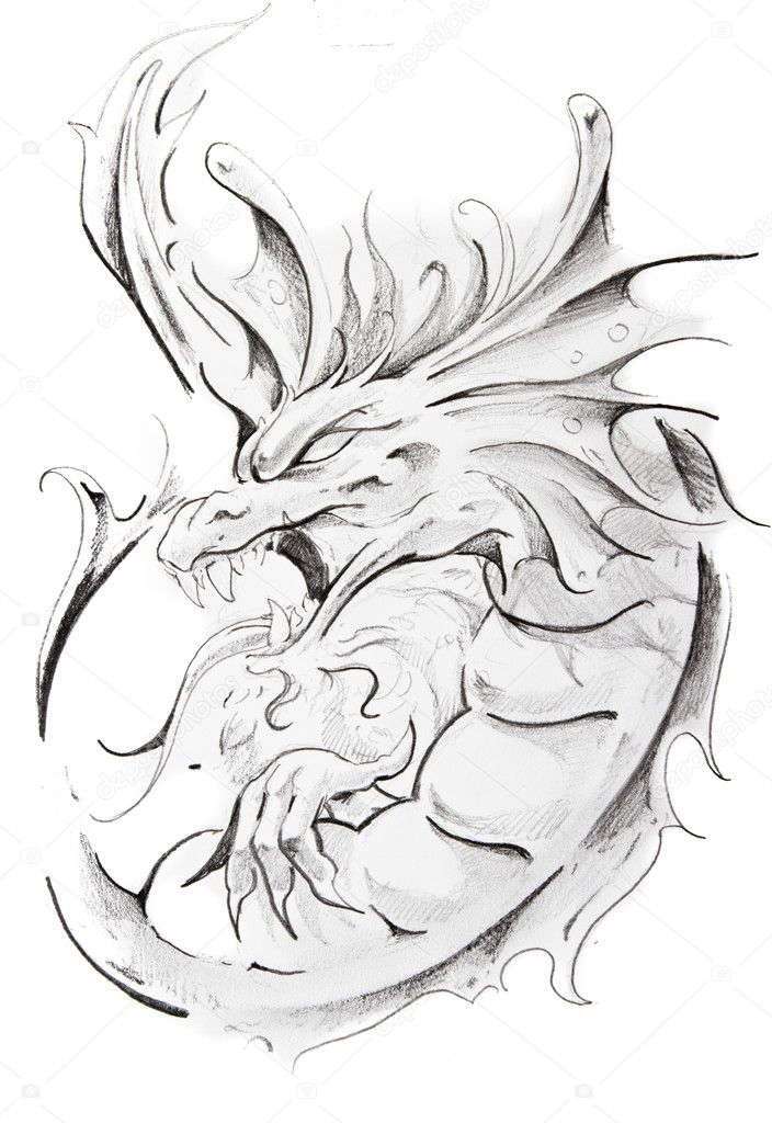 Medieval Dragon Tattoos Related Keywords amp Suggestions