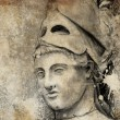 Sketch made with digital tablet of general pericles — Stock Photo #21624941