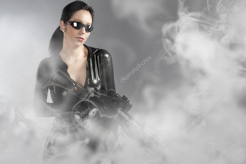 Sexe avec la branche fumée