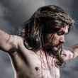 Stock Photo: Representation of Passion of Jesus Christ