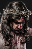 Representation of the Passion of Jesus Christ — Stockfoto