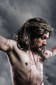 Representation of the Passion of Jesus Christ — Стоковое фото