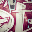 Graffiti wall. Urban art grunge background. hip hop texture — Stock fotografie