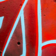 bunte Graffiti, abstract Grunge Graffiti hintergrund — Stockfoto #25552943