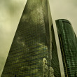 Stock Photo: Cuatro Torres Business Area, madrid spain
