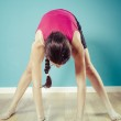 Woman stretching — Stock Photo #34301577