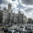 Gran Via, street in Madrid, capital of Spain, Europe. — Stock Photo #35179175