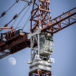 Construction tower — Stock Photo